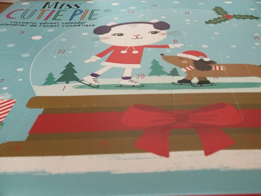 Klikk på bildet for å forstørre. Miss Cutie Pie er en kalender for de unge jentene