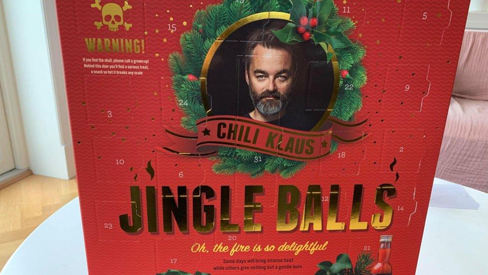 Klikk på bildet for å forstørre. Chili-Klaus og hans Jingle Balls var storselgeren i 2019.