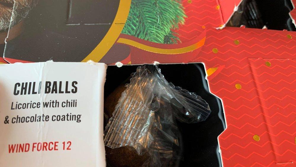 Klikk på bildet for å forstørre. Chili balls med mye chilismak. Du vet om du er i målgruppen eller ei.