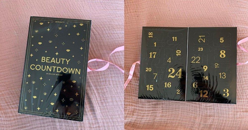 Klikk på bildet for å forstørre. H&M Beauty Countdown er en pen kalender.