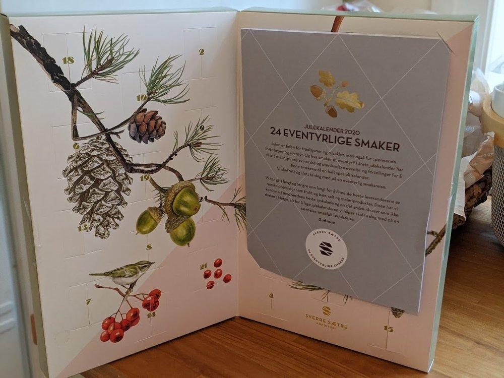 Klikk på bildet for å forstørre. Den lille kalenderen til Sverre Sætre har et klassisk kalenderutseende.