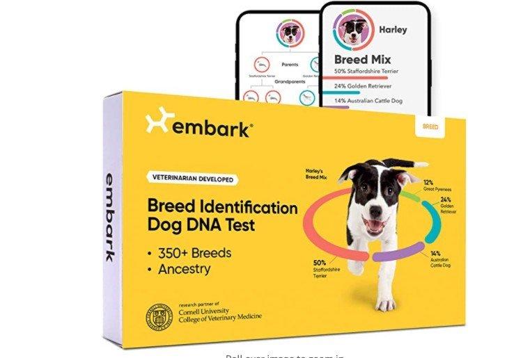 Klikk på bildet for å forstørre. Denne DNA-testen kan du kjøpe til Norge. Amazon betaler alle tollavgiftene når du handler i butikken.