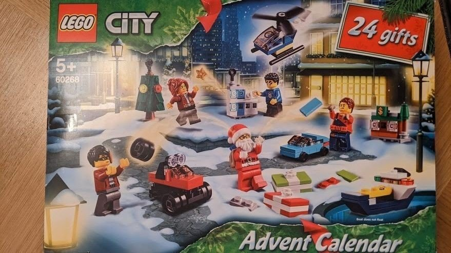 Klikk på bildet for å forstørre. Dette er den beste av de tre LEGO-kalenderne