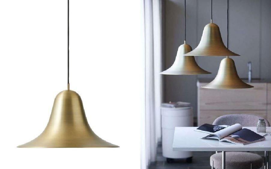 Klikk på bildet for å forstørre. designlampe Verpan