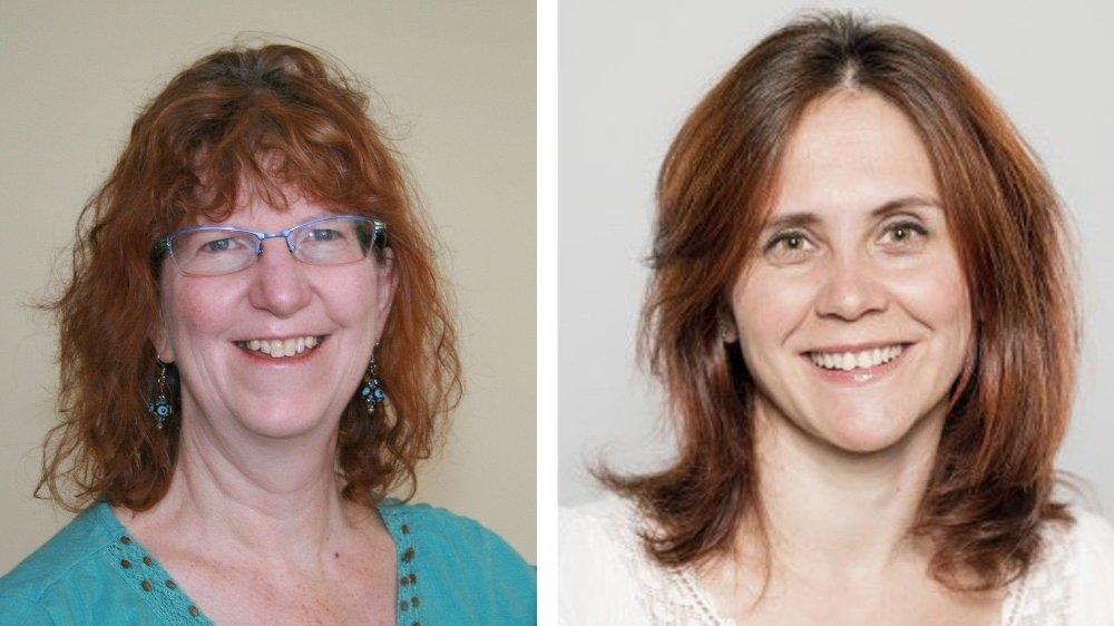 Klikk på bildet for å forstørre. FORSKERNE: Ruth Newberry og Judit Vas er to av forskerne bak studien, og de jobber ved NMBU i Ås utenfor Oslo.