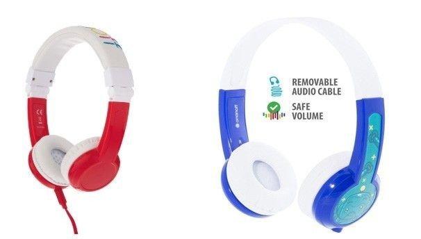 Klikk på bildet for å forstørre. Buddyphones Explore. Enkle og sikre hodetelefoner med kabel.