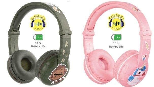 Klikk på bildet for å forstørre. Disse hodetelefonene fungerer særdeles bra på de aller minste, samt unge barn. Har lang battertid, og er gode på ørene.