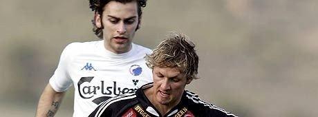 ARKIVFOTO: Magne Hoset og Alexander Ødegaard da FCK og RBK møttes i La Manga.