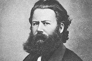 Henrik Ibsen I Christiania 1863.