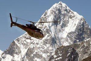 Illustrasjonsfoto fra Mount Everest.
