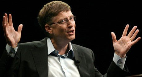 Bill Gates snakker på 2006 Technet Innovation Summit på Stanford.