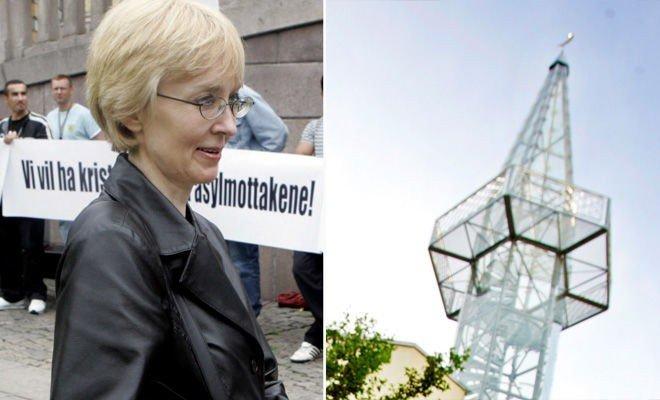Anne Liv Gamlem i Kristent Samlingsparti ønsker ikke å våkne opp til bønnerop.