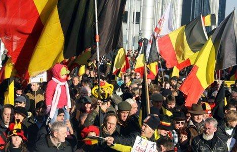 brussel belgia demonstrasjoner