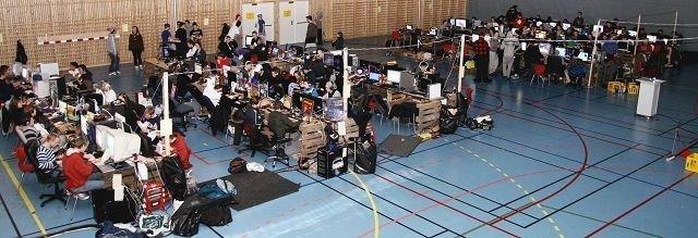 BølerLAN arrangeres i helgen for 12. gang. Stedet er som i fjor, Bøler flerbrukshall. Arkivfoto: Øystein Dahl Johansen
