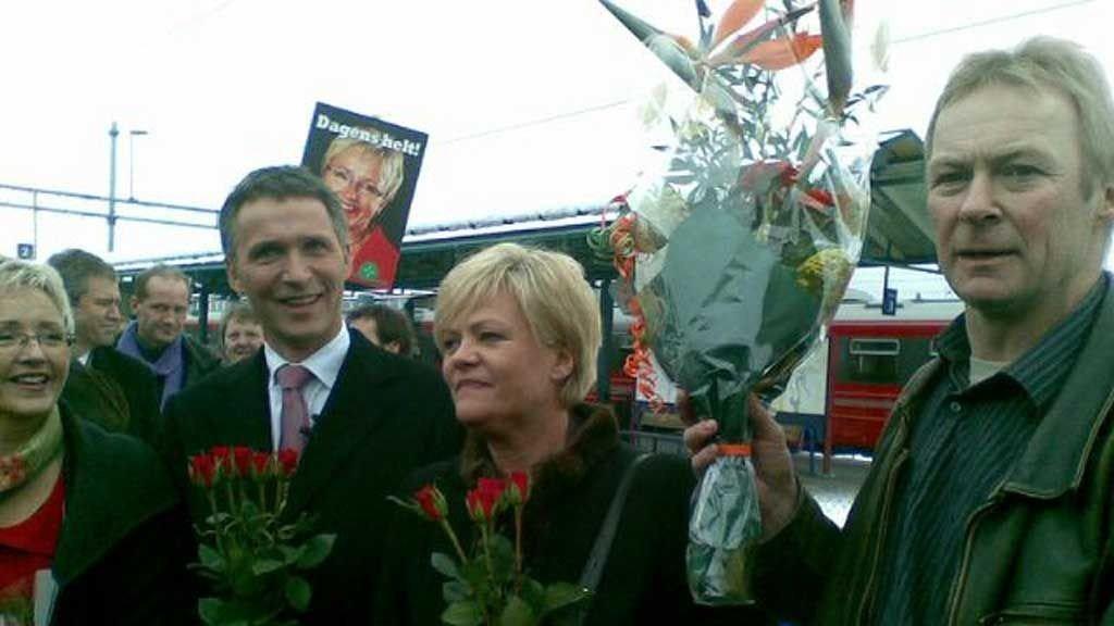 Kristin Halvorsen, Jens Stoltenberg og