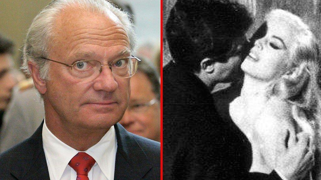 LA DOLCE VITA: Carl Gustaf vil gjerne møte Anita Ekberg under sitt besøk i Italia senere denne måneden.