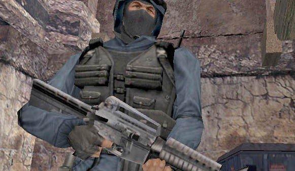 FORBUD: Counter-Strike er blant spillene som ikke tillates på skolen.