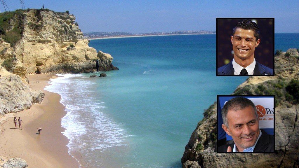 PORTUGAL: Portugiserne José Mourinho og Cristiano Ronaldo har plukket ut sine feriefavoritter i hjemlandet.