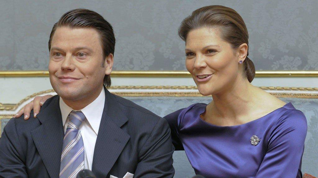 BRYLLUP NESTE ÅR: Victoria og Daniel får en lang forlovelse.