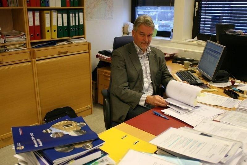 Bydelsdirektør i Bydel Grorud, Helge Jagman, har jobbet intenst med saken om skjermete plasser.