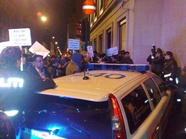 Demonstrantene mener Norge må ta ansvar og gjøre sitt for å mane fram fred på Sri Lanka.