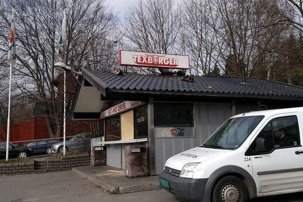 Det er kun skall igjen av det berømte gatekjøkkenet Texburger.