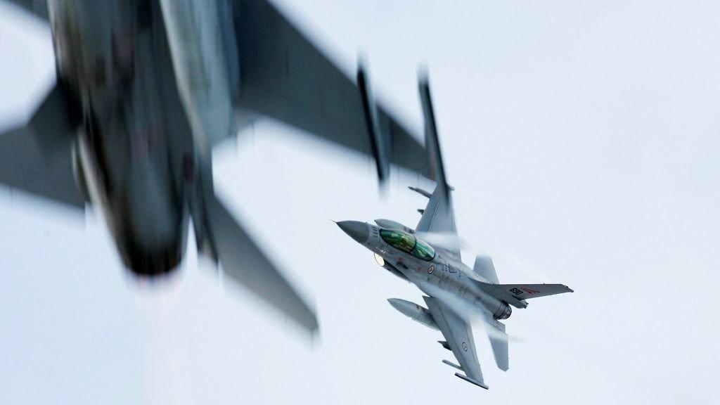NEDGANG: Norske jagerfly har identifisert færre russiske militærfly.
