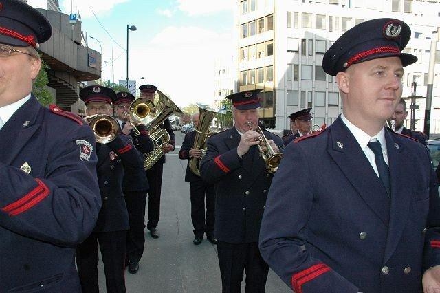 Korpsveteranene fra Ruseløkka gleder seg til den store dagen. FOTO: ANDERS JØRSTAD