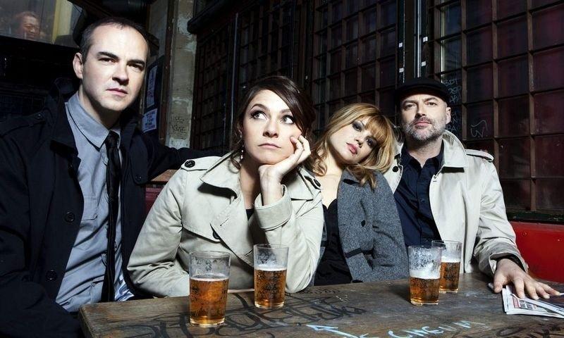 POP I NORGE: Nouvelle Vague har fått en lojal tilhengerskare også i Norge. Nå er de klare med sitt tredje album. (Foto:VME)
