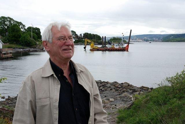 SAVN: Bjørn Jødal ønsker seg Huk-fergen tilbake. Foto: Anne Marie Huck