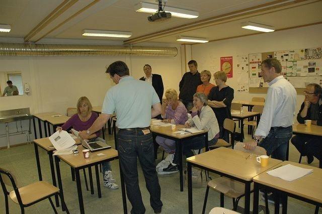 FAU-leder Henrik Wiig på Ullevål, møtte ikke nevneverdig støtte fra de andre foreldrerepresentantene på skolemøte sist uke.