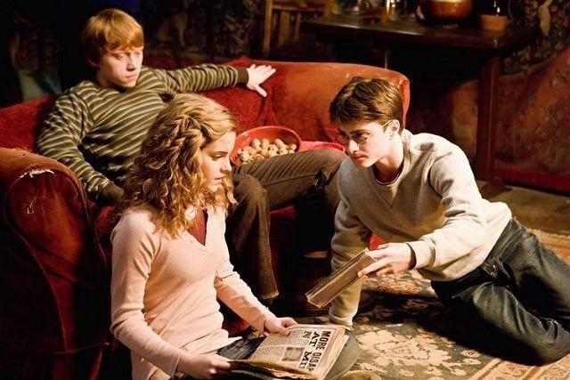 Harry Potter og vennene hans. Foto: Warner Bro. Entertainment Inc/Jaap Buitendijk