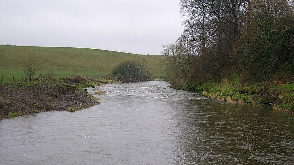 River Garnock Skottland