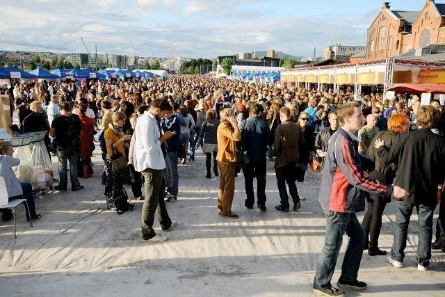 I midten av august blir tidenes festivaluke i Oslo. Her fra Øyafestivalen i fjor. FOTO: HEGE BJØRNSDATTER BRAATEN