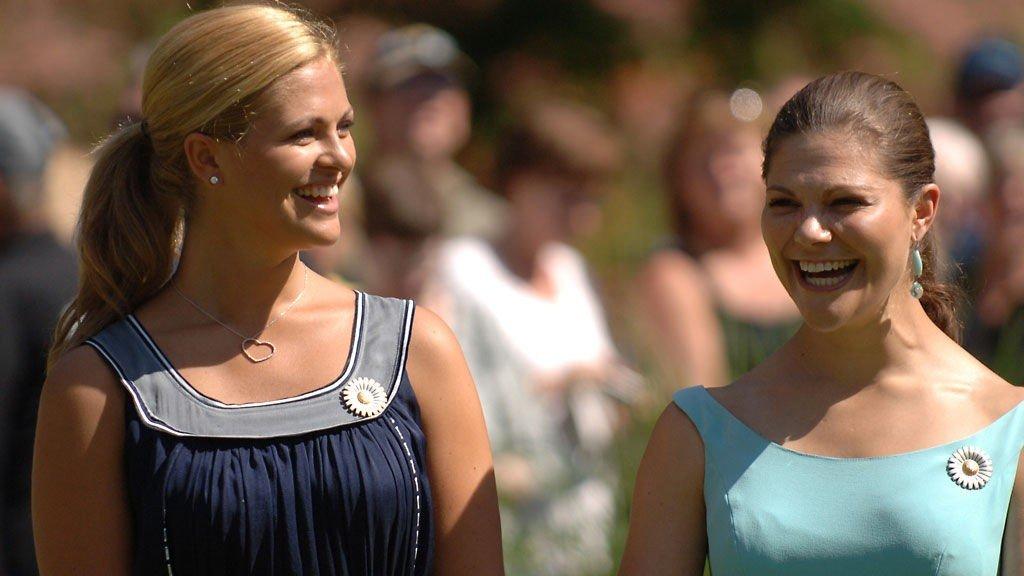 INTRODUSERTE: Madeleine introduserte Victoria for Daniel i 2001. Resten er som de sier - historie.