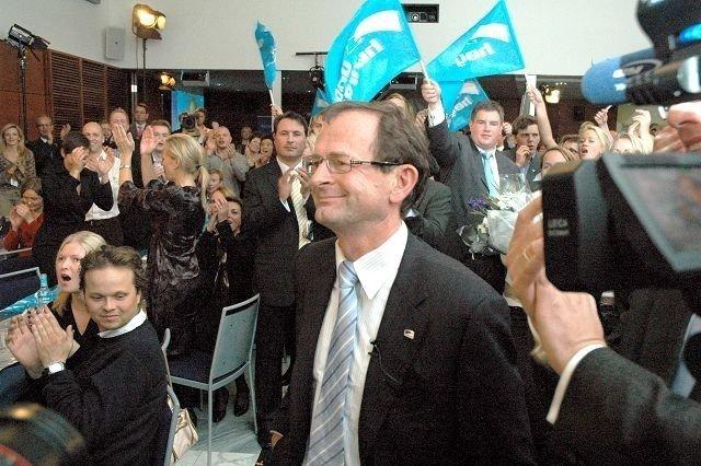 Kommunevalget i 2007 ble en stor triumf for Høyre og byrådsleder Erling Lae. Foto: Vidar Bakken