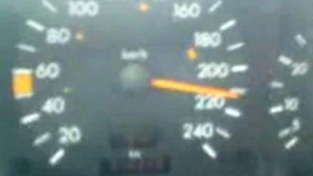 Speedometer til råkjører