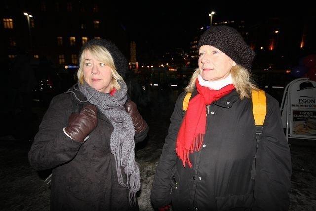Anne Harviken og Torhild Breidablikk i Fransiskushjelpen møter gatefolket der de er.