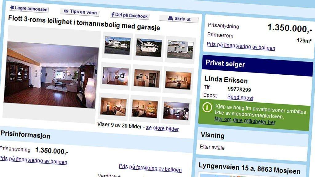 c9931b94 Konkurransetilsynet , DnB NOR Eiendom   Blir du diskriminert av Finn.no?