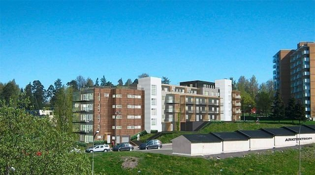Alle leilighetene i Lønnebakken borettslag på Tveita er nå utsolgt.