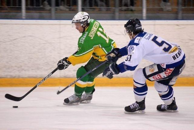 Maths Johansson viste storform i torsdagens kamp. Her er svensken i aksjon mot Sparta tidligere i sesongen.