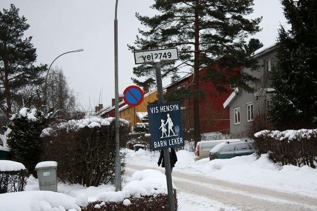 Vei 2749 går inn fra Brannfjellveien (bildet) og ut i Enoks vei.Om gatestubben blir til Anne Brannfjelds vei, avgjøres kanskje til høsten. Foto: Aina Moberg