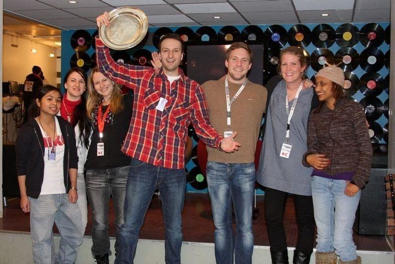 Fjorårets vinner, Andres Diaz ved ungdomklubben Condio på Majorstuen. Hvem vinner den gjeve prisen Årets Navn 2009?