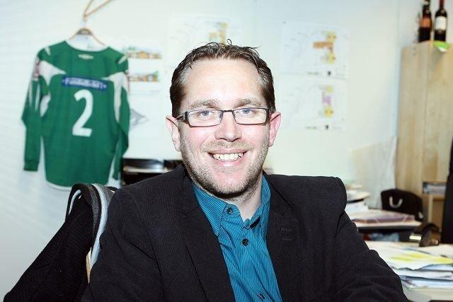 Tom Arne Nyborg, leder Manglerud fotball.