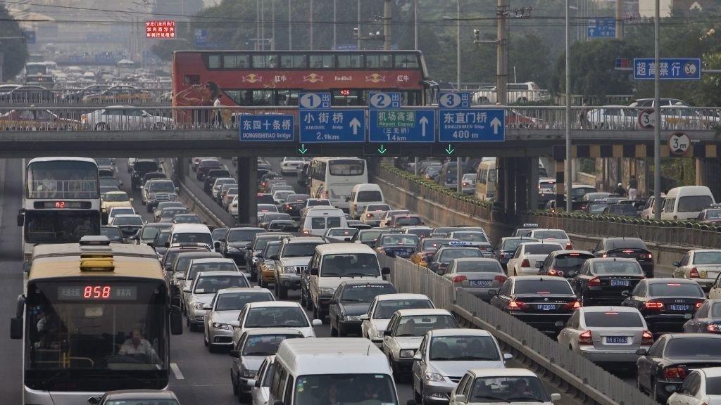 Kina, Kjøretøy, Bilsalg, rushtrafikk