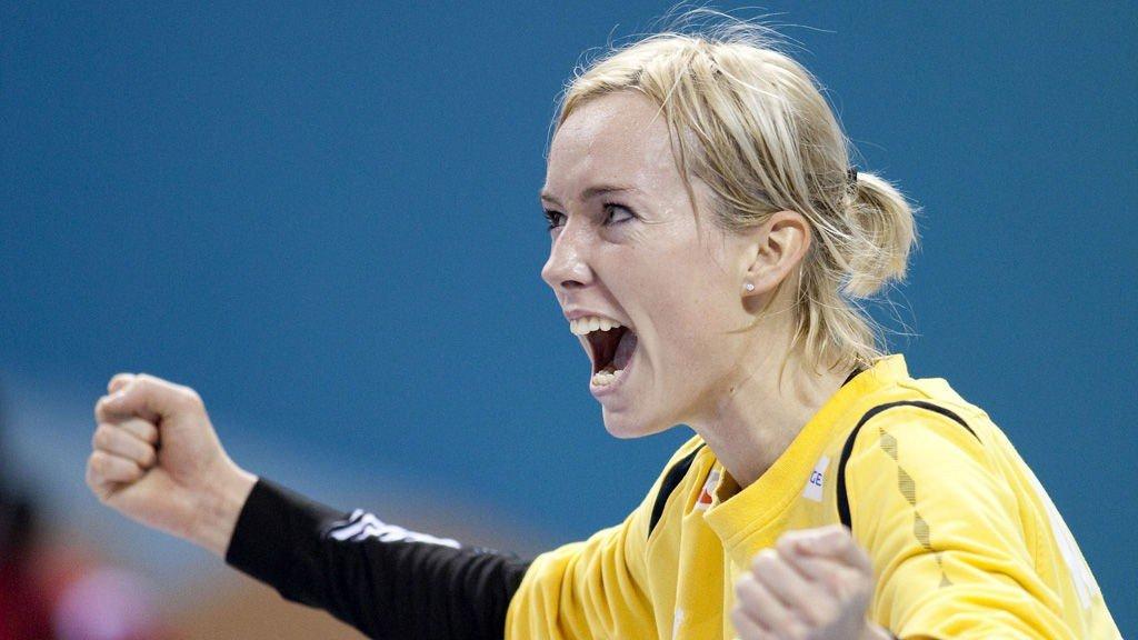Katrine Lunde Haraldsen Handball Norsk Landslagskeeper Til Ungarn