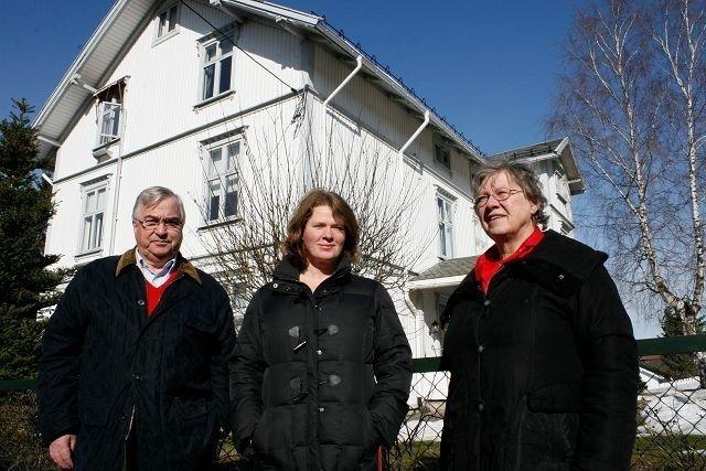 Hroar Møthe, Hege Roaldset og Elen Roaldset ønsker at Holtet skal få én samlet reguleringsplan.