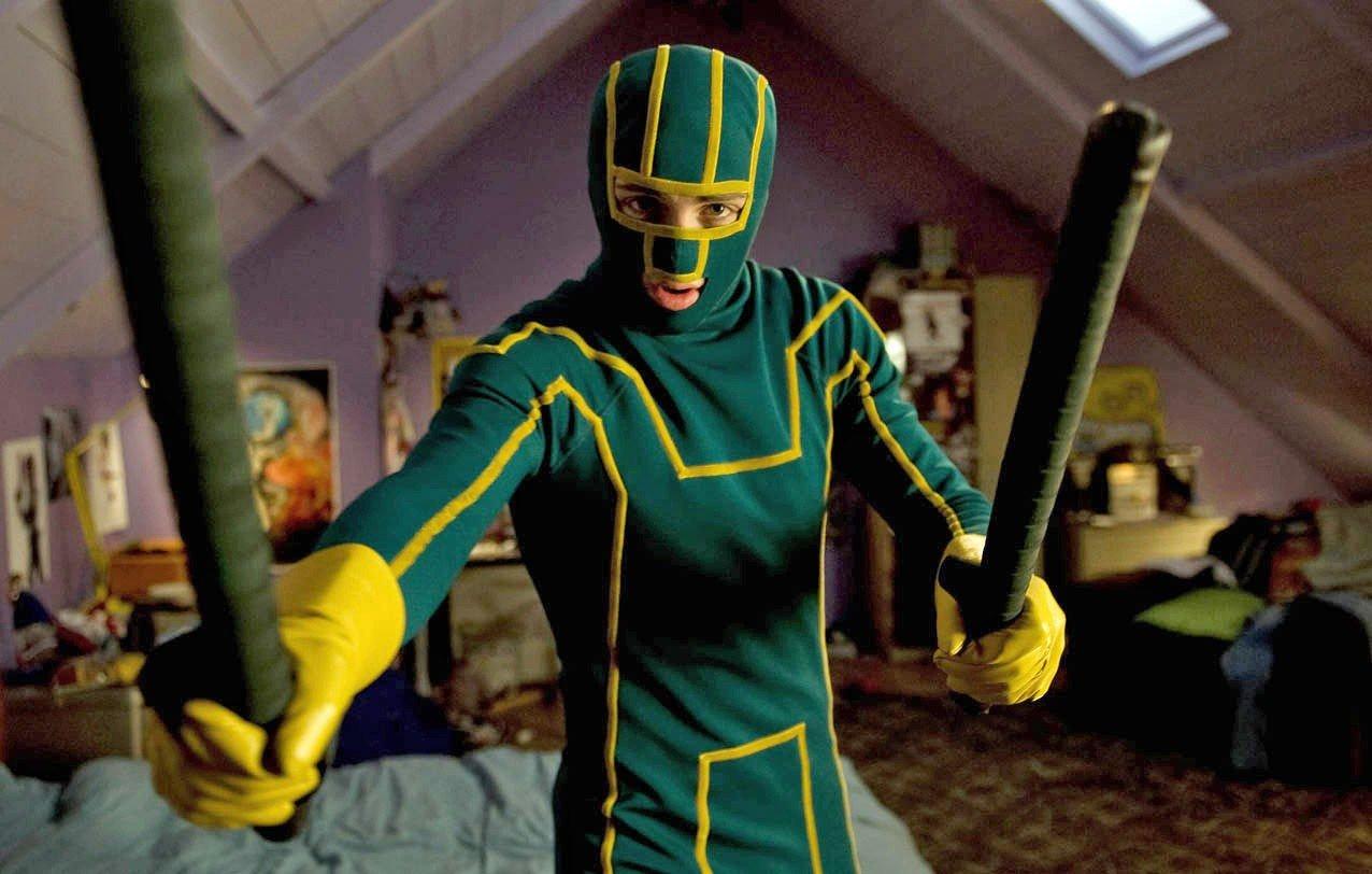 Aaron Johnson spiller tittelrollen i Matthew Vaughns «Kick-Ass», som får norgespremiere 9. april.