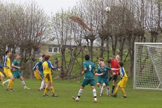 Rommen hadde ikke marginene helt med seg i mellomspillet i Nike Premier Cup, men ble likevel nummer seks i turneringen. Foto: Rommen SK G95.