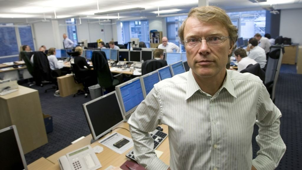 Peter Hermanrud, aksjestrateg i First Securities